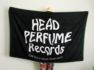 Strandtuch Head Perfume Records (150 x 100cm)