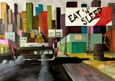"Postkarte ""All Along The P.S.S."" Markus Lange"