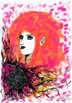 "Postkarte ""Amélie"", Anne Zückert"