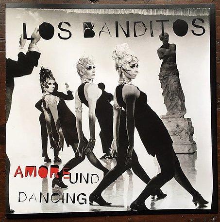 "Los Banditos - Amore Und Dancing 7"" Colored-Single mit Spezialmittellochpuk"