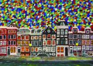 """""""Der Himmel über Amsterdam"""" (Postkarte)"""
