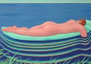 """Postkarte """"Waves"""" Danny Linwerk"""