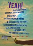 YEAH - Postkarte - René Seim